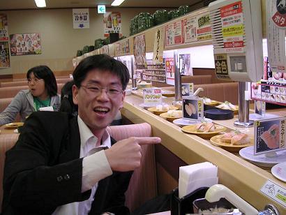 Il cibo giapponese (ancorchè cucinato da cinesi) provoca buon umore.