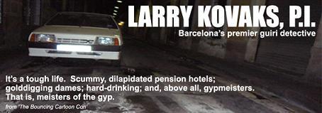 Il sito di Kovaks, il primo investigatore guiri di Barcellona