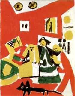 Una delle Meninas di Picasso